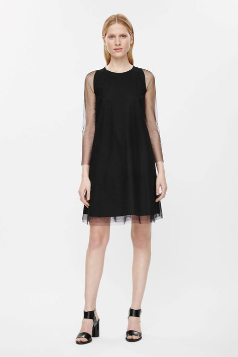 A-line tulle dress COS
