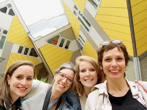 Mums gone wild Rotterdam cube houses