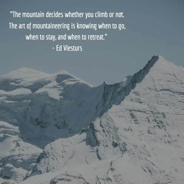 Inspirational Quotes About Mountains