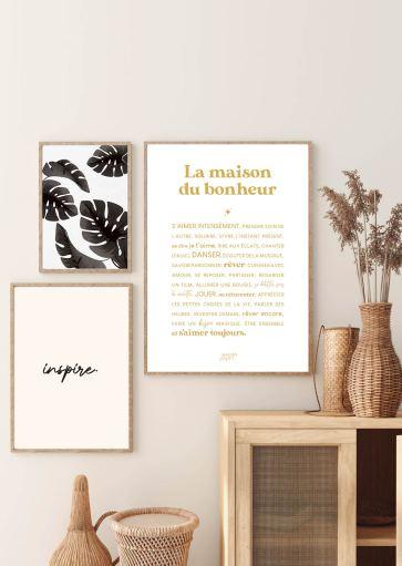 Affiche La Maison du Bonheur à imprimer