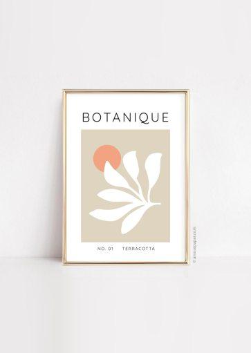 Affiche Botanique à imprimer
