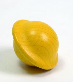 Yellow UFO Wooden Ball For kids