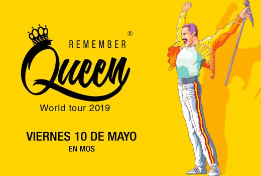 Sorteo de dúas entradas para As Baloutas Fest: Remember Queen