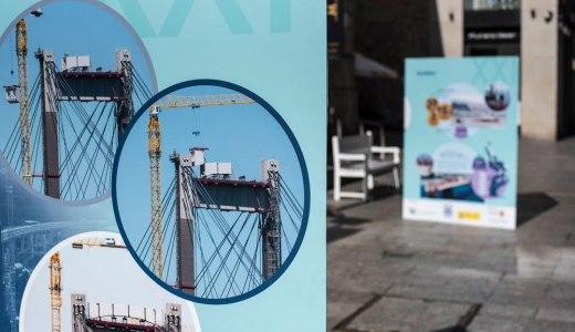 Unha mostra sobre a ponte de Rande desembarca en Príncipe