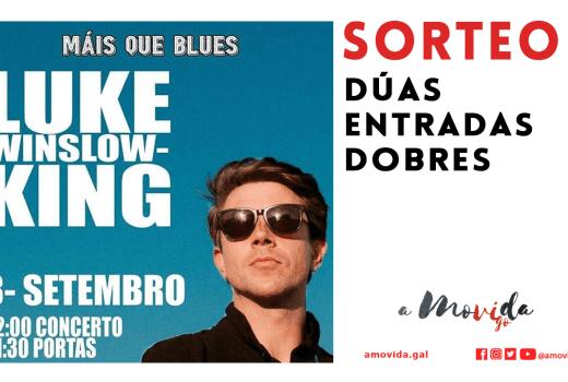 "Sorteamos dúas entradas dobres para ver a Luke Winslow-King no ciclo ""Mais Que Blues"""