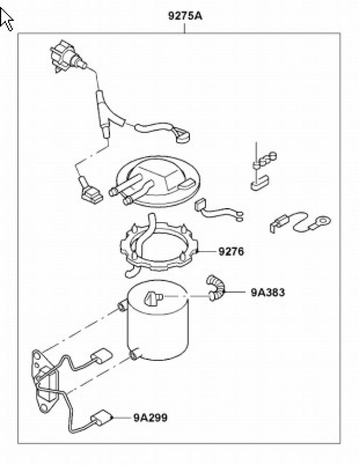 Genuine Ford Fuel Pump Sender Assembly
