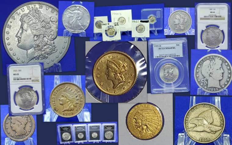 coin collectors online auction