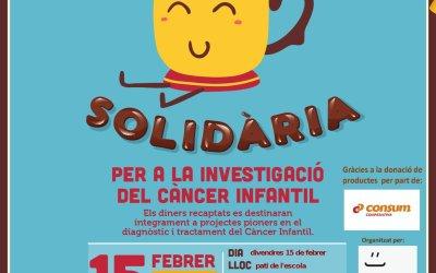 Xocolatada solidària divendres 15 de febrer