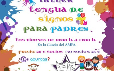 Taller Lengua de Signos para padres