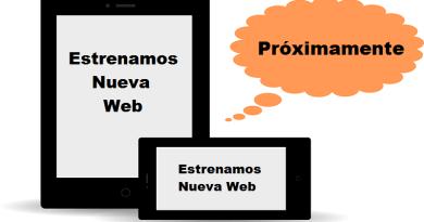 Estrenamos Nueva Web