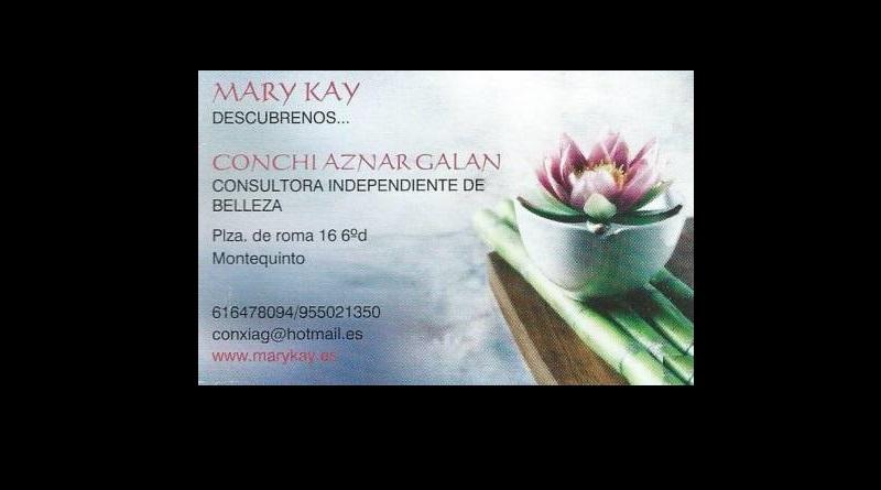 Concepción Aznar - Consultora Mary Kay