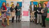 Equipo Directivo del Federico Garcia Lorca, miembros del Hospital Quirónsalud Sur y Vicepresidenta y Tesorera del AMPA