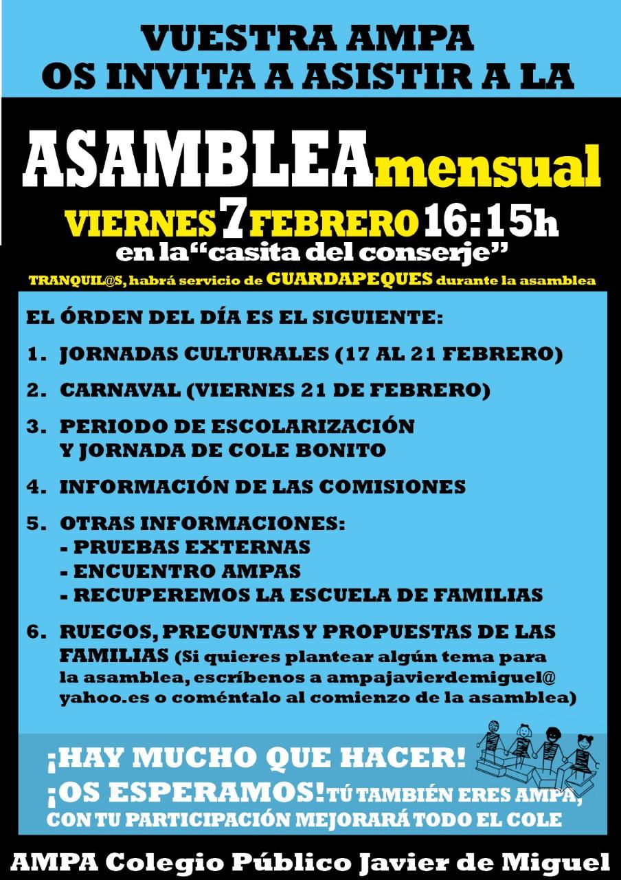 CartelAsambleaFeb2020