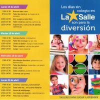 """""""Escuela de Verano"""" en Semana Santa para nuestros hijos en el Colegio"""