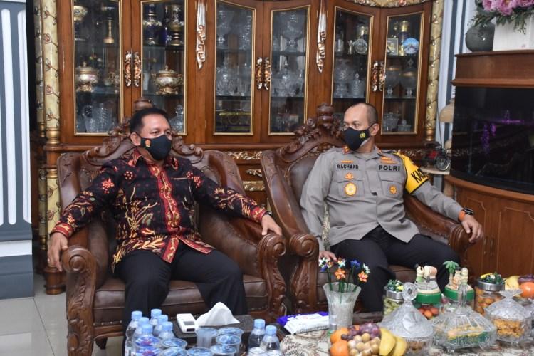 Foto: Kapolda Jambi Anjangsana ke Rumah Purnawirawan Polri