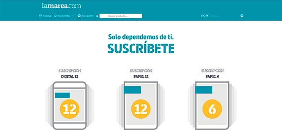lamarea.com - online shop