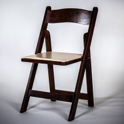 Wooden Folding Chairs For Rent Black Wood Dining Chair Walnut Am Party Rentals
