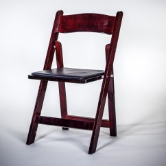 Wooden Folding Chairs For Rent Cattelan Italia Dining Chair Wood Mahogany Am Party Rentals