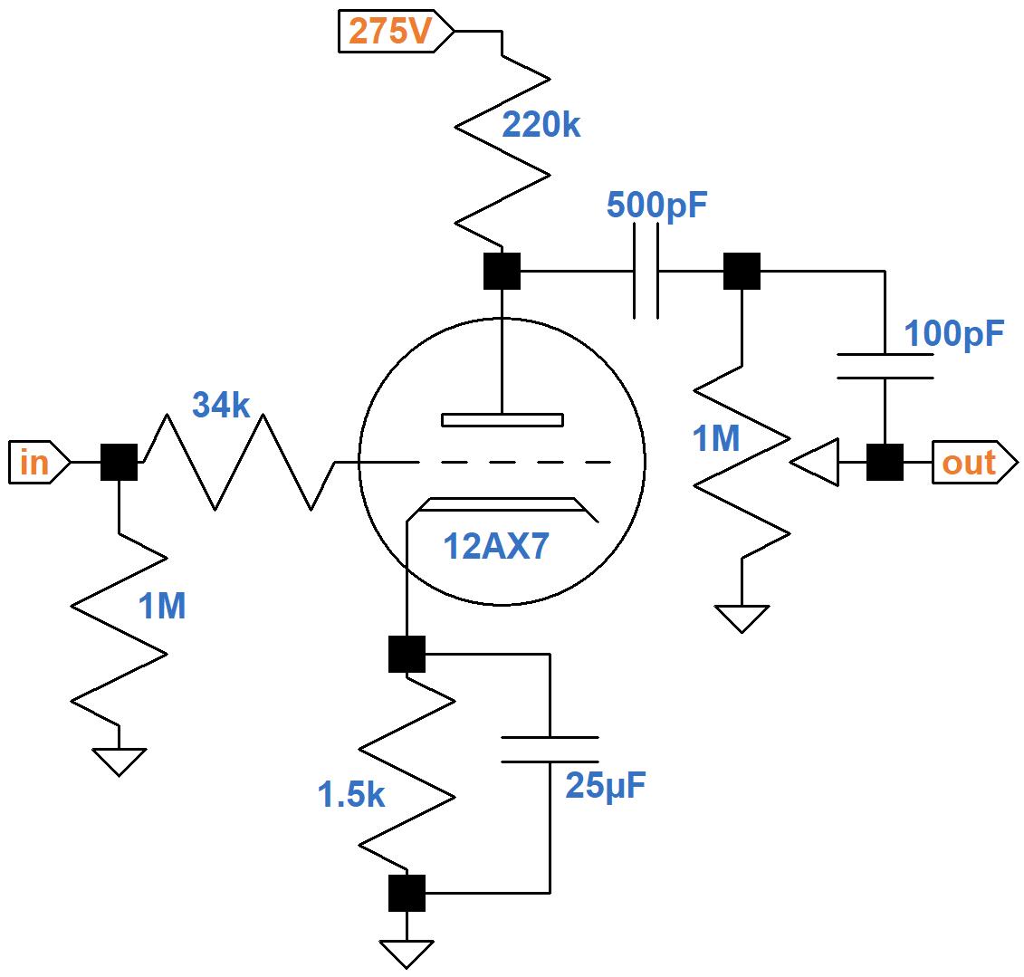 Vox AC30 Silver Jubilee Circuit Analysis