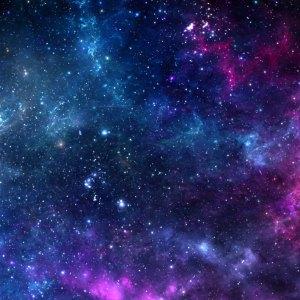 Voie Lactée sur murale imprimée