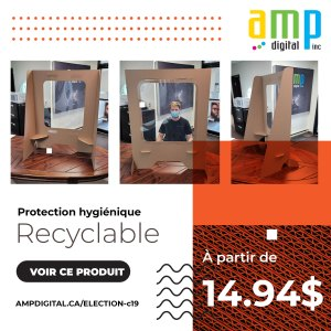 Protection hygiénique recyclable