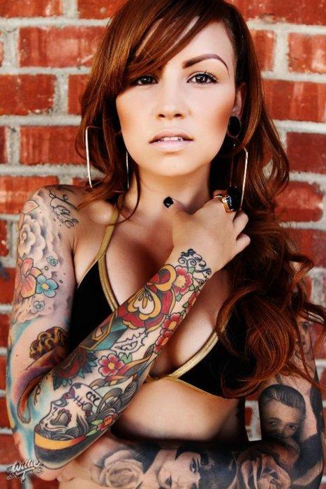 Tattooed Asian Women : tattooed, asian, women, Asian, Women, Tattoos, Amped, Magazine