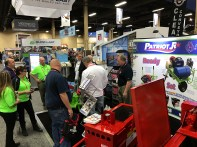The PJR booth was packed the entire time.