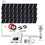 Sistem fotovoltaic On-Grid trifazat IV