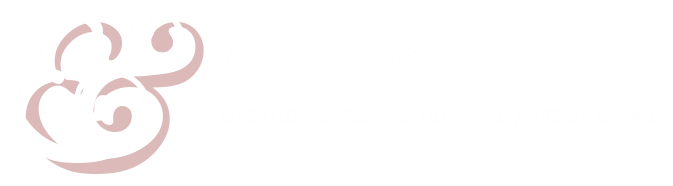 Ampersunder - Creation and destruction, one page at a time