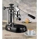 LAPAVONI EUROPICCOLA LEVER ESPRESSO MACHINE EPBB-8 (Chrome/Black)-Superb Espresso Maker