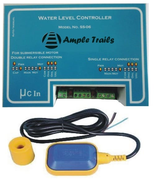 single phase borewell starter wiring diagram 2004 acura tl speaker automatic water level controller motor submersible