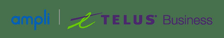 ampli, telus business logo