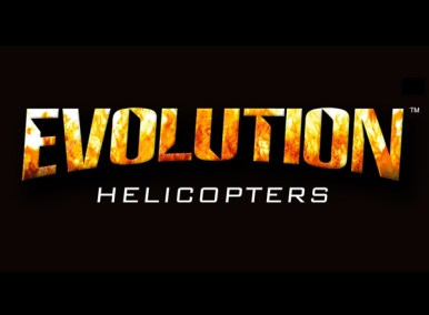 Evoloution Helicopters Branding, Logo Design, RC Helicopter