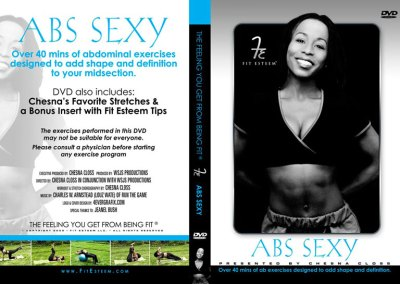 Fit Esteem DVD Jacket Design