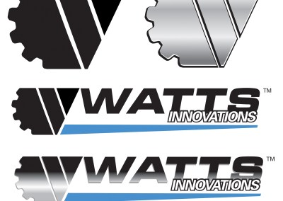 Watts Innovations Logo, Branding