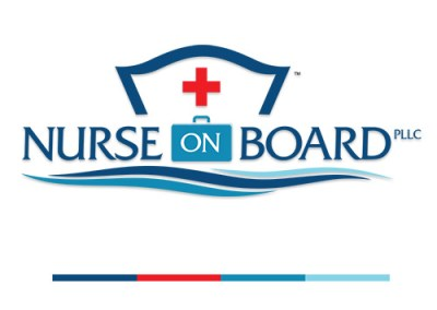 Nurse On Board Branding, Logo