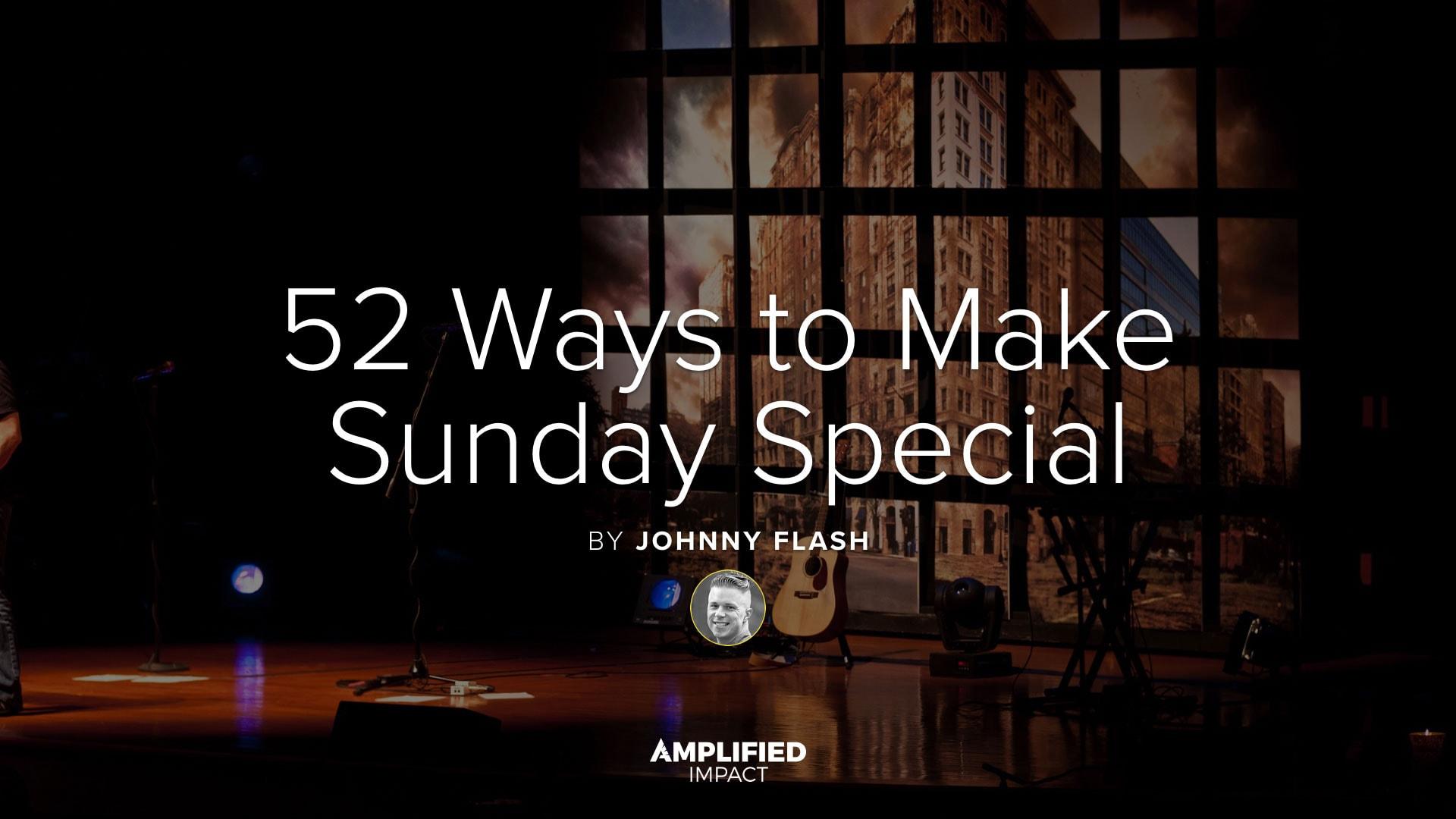 52 Ways To Make Sunday Special Free Ebook By John Falke