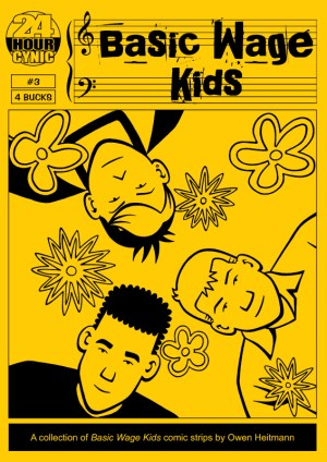 'Basic Wage Kids #3' cover by Owen Heitmann