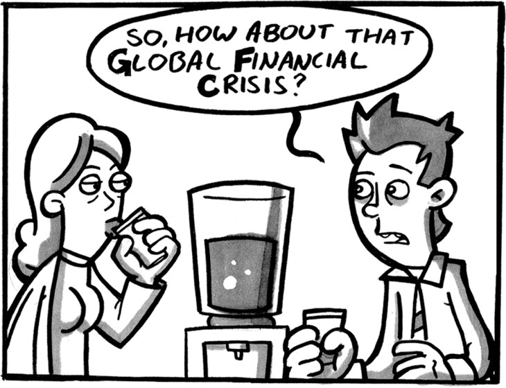 Panel from 'G.F.C.' by Jase Harper