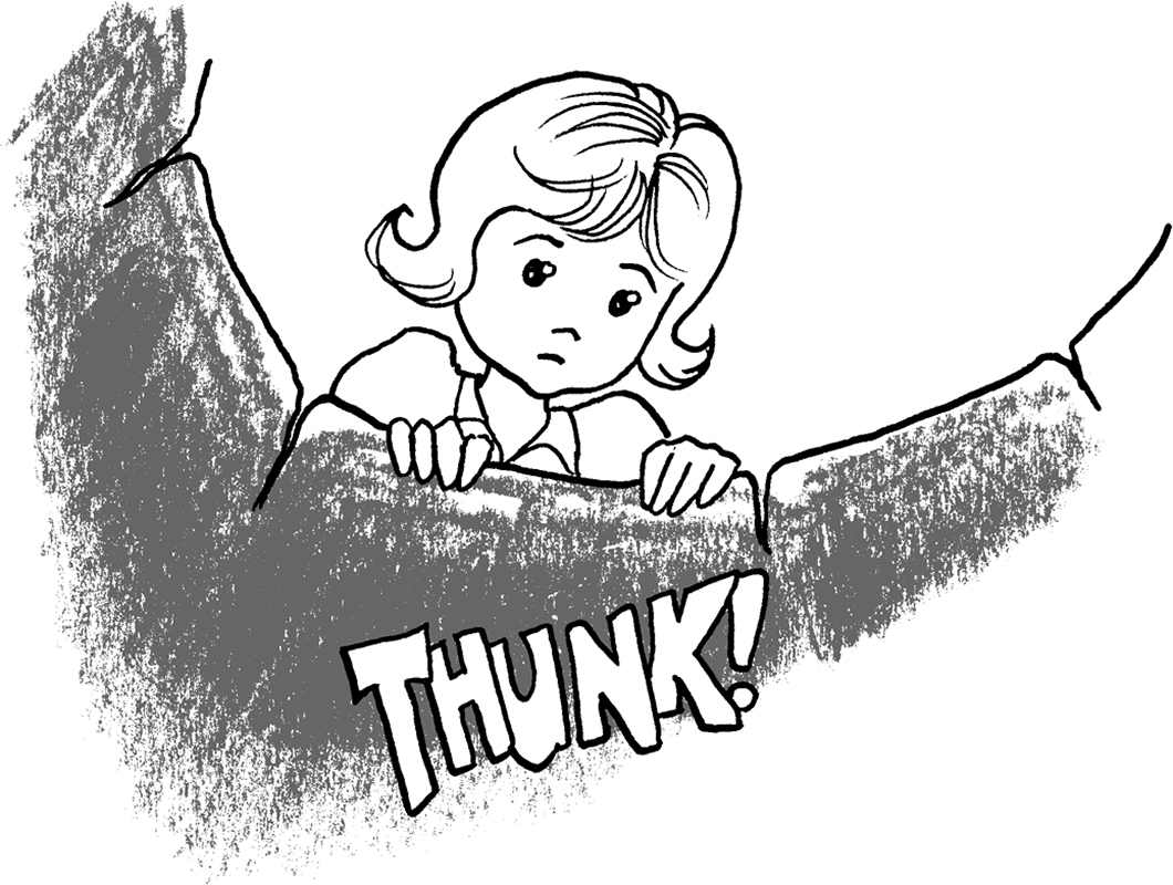 Panel from 'Oh Well' by Ian C. Thomas