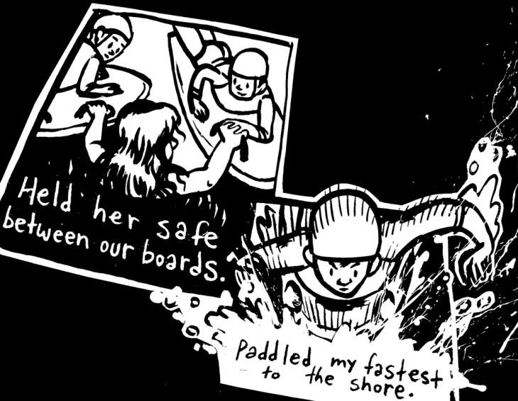 Panel from 'Nipper Heroes 14/11/2009' by Robin Tatlow-Lord
