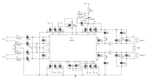 small resolution of clas d amplifier circuit diagram