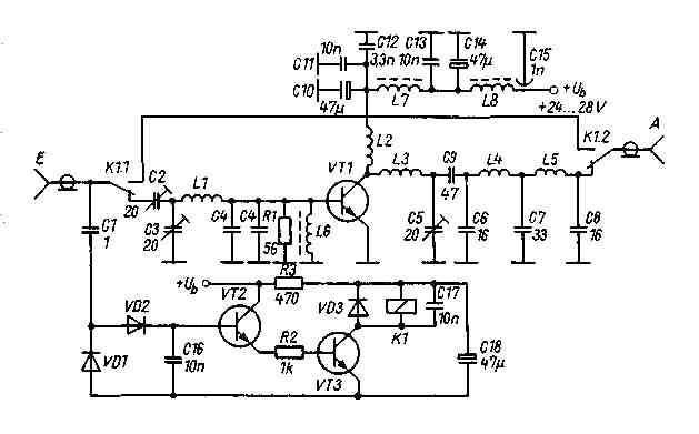 144 MHz Power amplifier