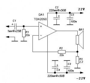 tda2050 amplifier circuit diagram wiring diagram post Transistor Amplifier Circuit Diagram