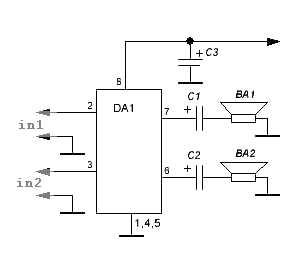 dual channel headphone amplifier amplifier circuit design