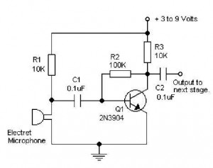 electret microphone lifier circuit diagram free download wiring rh 45 77 100 8