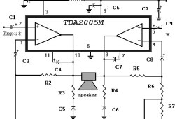 20 Watt Power Amplifier based TDA2005