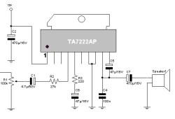 5.8 W Audio Power Amplifier