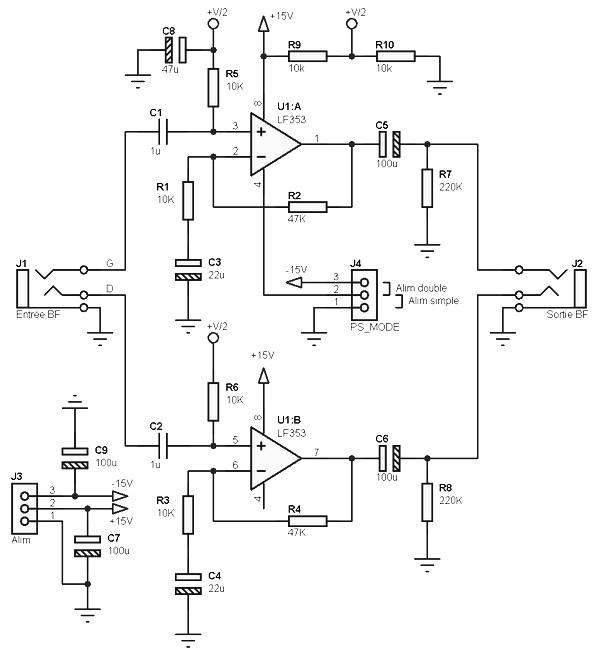 audio pre amp archives amplifier circuit design