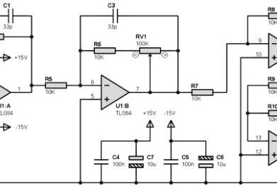 TL084 pre amp Archives - Amplifier Circuit Design
